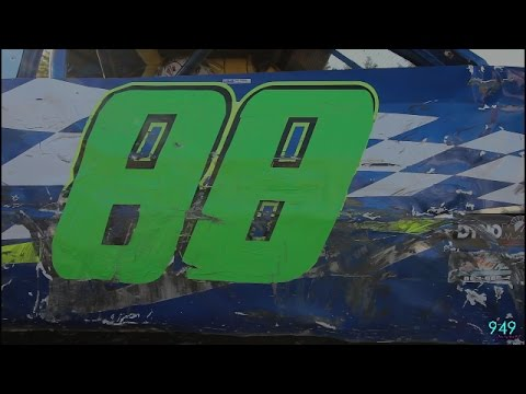 949 Productions: #88 Jesse Durkee 4 Cylinder Feature 5/20/17 Bear Ridge Speedway