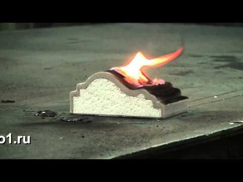 стеклоткань горит или нет