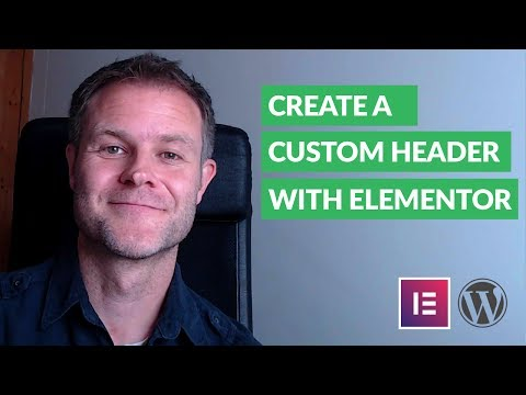 How to Create Your Own Custom Header with Elementor - Design Build Web