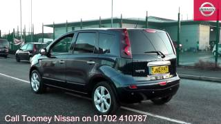 2010  Nissan Note  Tekna  1.6l Cayman Blue BJ60FHT for sale at Toomey Nissan Southend