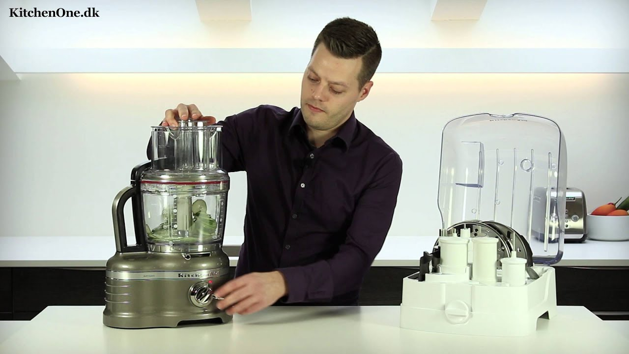 Kitchenaid Artisan foodprocessor test - YouTube
