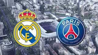 Real Madrid vs PSG: 3 - 1