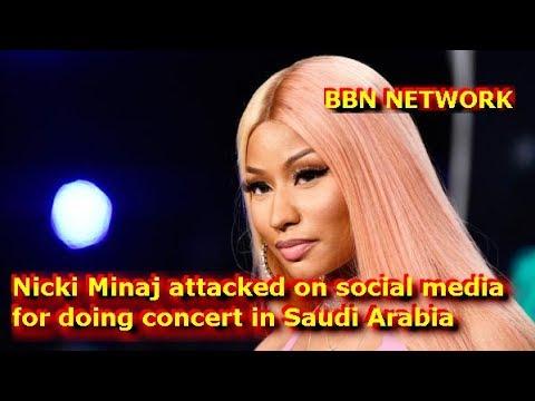 Nicki Minaj attacked on social media for doing concert in Saudi Arabia