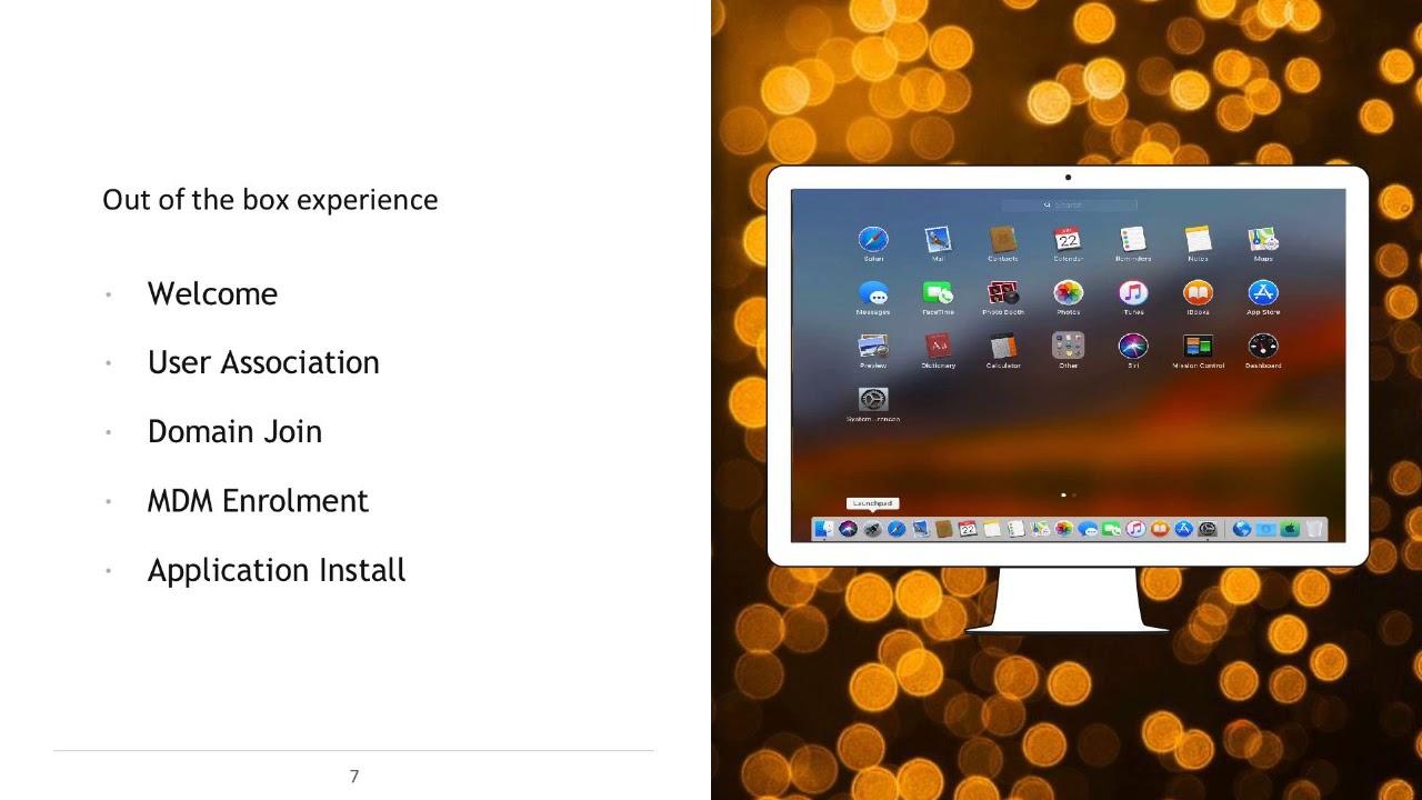 VMworld 2018 Gareth Edwards - Utilising AirWatch to automate your iOS Mac  builds