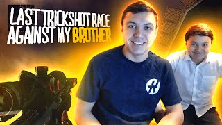 The LAST Trickshot Race Against My Brother!