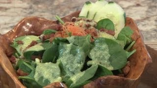 Spinach & Pancetta Salad : Spinach Salads