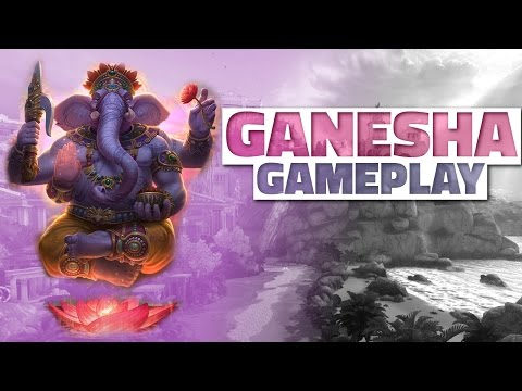 SMITE GANESHA GAMEPLAY (Support) - PTS First Look