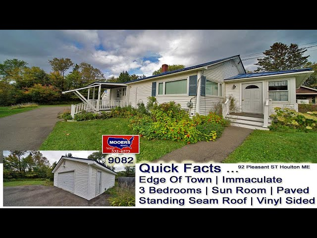 3 Bedroom Home For Sale In Maine Video   Maine Real Estate MOOERS REALTY 9082