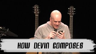 Devin Townsend on how he composes (Fan Q&A in Helsinki, Finland, 30.03.2019)
