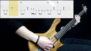 Joan Jett & The Blackhearts - I Love Rock N' Roll (Bass Cover) (Play Along Tabs In Video)