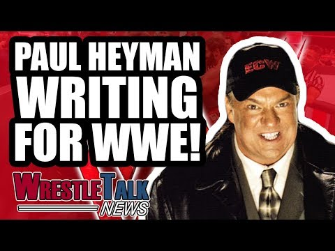 WWE Planning TWO WRESTLEMANIAS A YEAR?! Paul Heyman WRITING For WWE! | WrestleTalk News July 2018