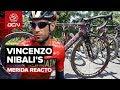 Vincenzo Nibali's Custom Merida Reacto