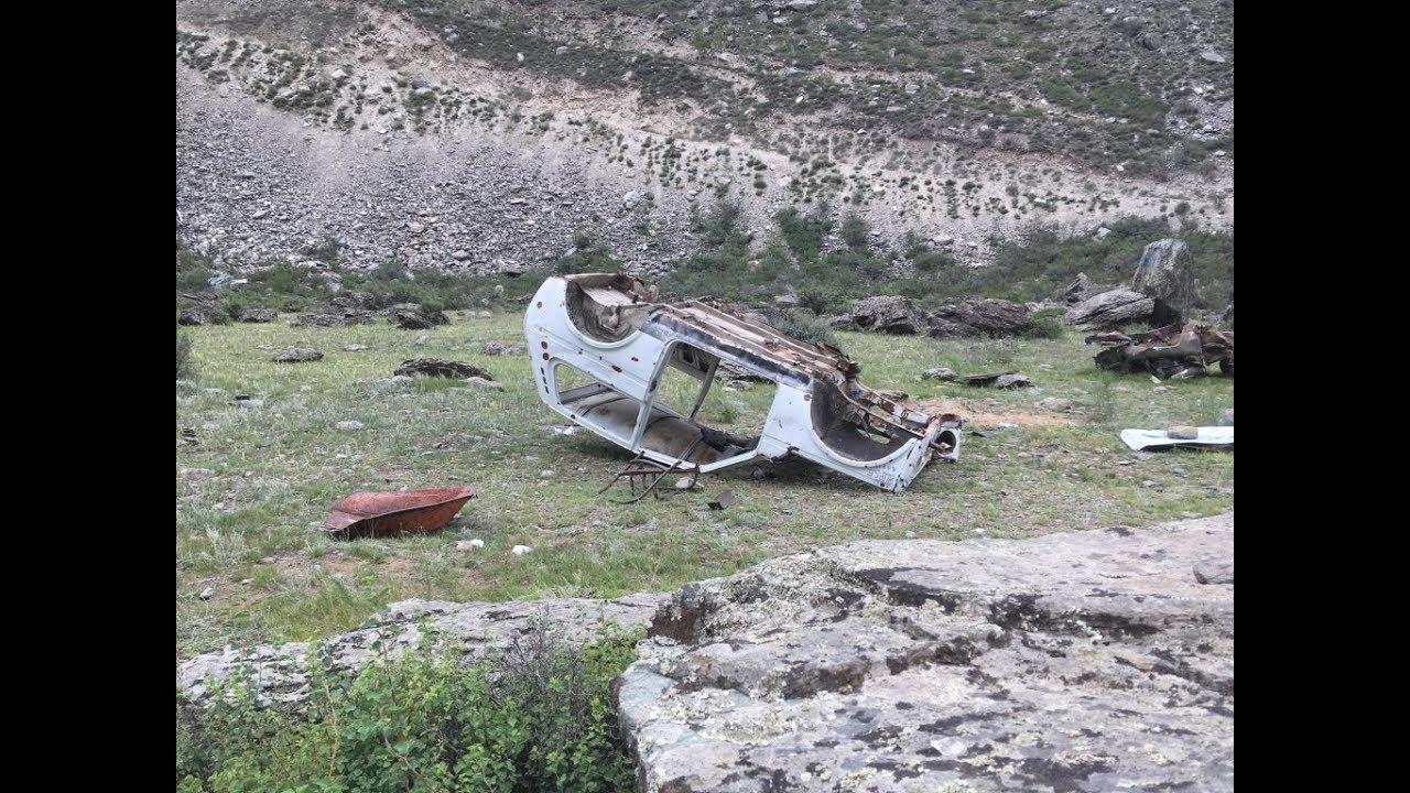 Перевал Кату-Ярык август 2019г. Спуск в долину Чулышман ...