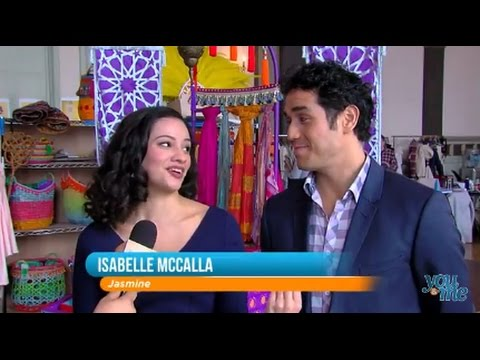 'Aladdin' Cast Talks Bringing the Stage Production to Chicago