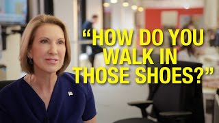 If Men Were Treated Like Women In The Office With Carly Fiorina (Presidential Candidate)
