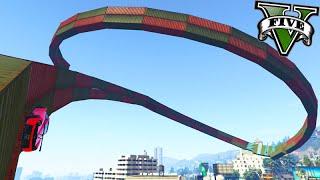 GTA V Online: WALLRIDE SUPER CURVADO! - Corrida INSANA #568