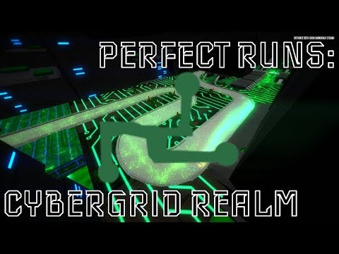 Distance Perfect Runs: Cybergrid Realm