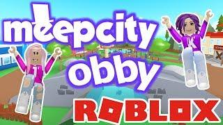 ESCAPE MEEP CITY! / Roblox: MeepCity Obby