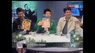 The Three Tengs Alvin Jeric at Jeron Teng sa Tonight with Arnold Clavio