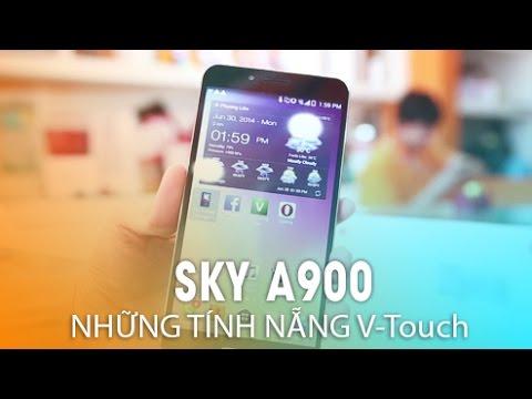 Pantech Sky - Những tính năng hay trên V-Touch