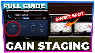 A complete guide t๐ GAIN STAGING (your questions answered)