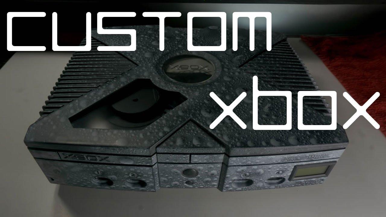 Custom modded original Xbox