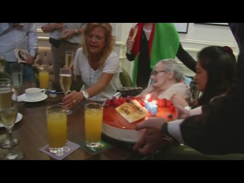 Woman who was first person to report WW2 celebrates 105th birthday