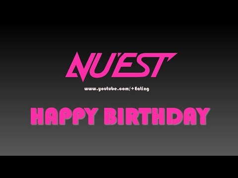 Nu'est - Happy Birthday - Instrumental Cover