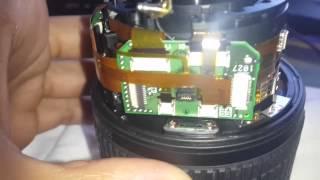 Nikon lens autofocus fix 18-105