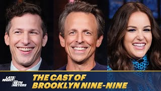Seth Chats with the Cast of Brooklyn Nine-Nine After Its Series Finale