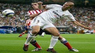 ZIDANE VS ATLÉTICO DE MADRID (21/05/2005)