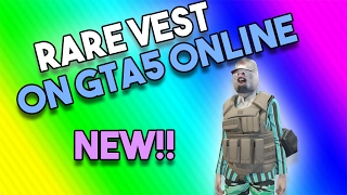 New clothing glitch! Modded and rare bullet proof vest! Grand Theft Auto 5 Online ( Join my crew!)