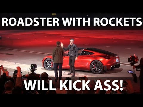 Roadster with SpaceX package will be awesome!