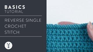 Learn It: Reverse Single Crochet Stitch