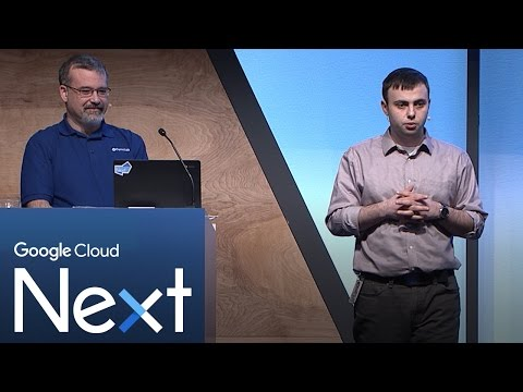 Large scale and batch computing on Google Compute Engine (Google Cloud Next '17)
