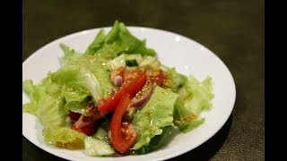 САЛАТ В КИСЛО-СОЛОДКОМУ СОУСІ/САЛАТ с авокадо в кисло-сладком соусе/Salad with sweet&sour dressing