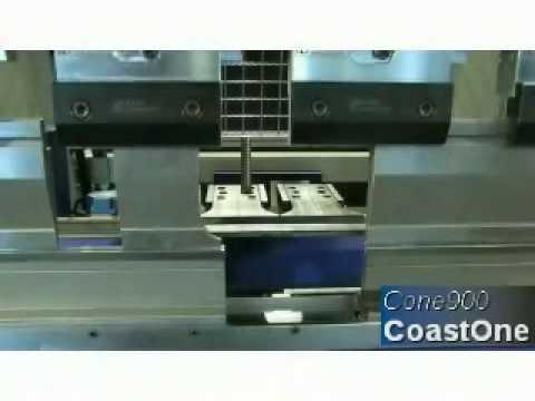Coastone Servo Electric Press Brake Cone 900 Youtube