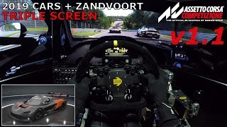 ACC v1.1 | Triple Screen Support & Season 2019 Cars + Zandvoort [+ Free McLaren 720S GT3]