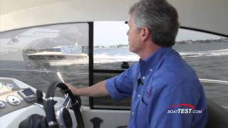 Prestige 440S 2011 Motoryacht Performance and Handling Test - By BoatTest.com.mp4