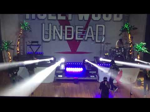 Hollywood Undead 2017 palladium in Worcester Massachusetts