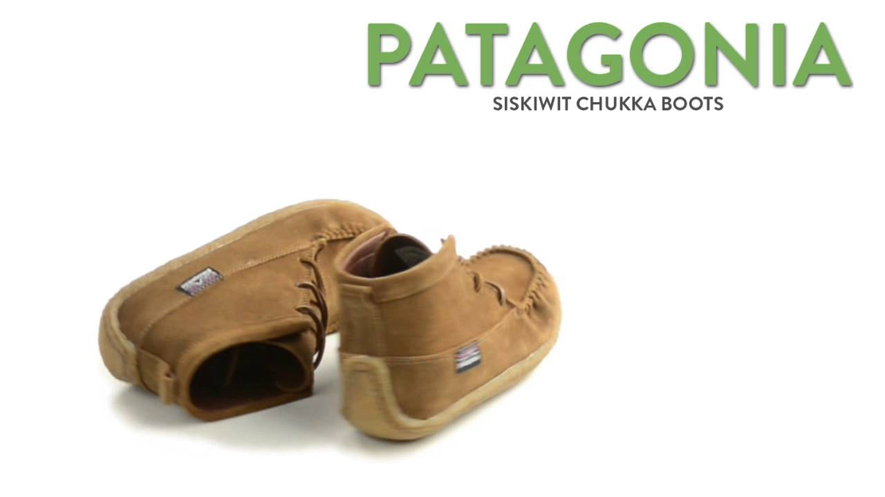 Patagonia Siskiwit Chukka Boots - Suede (For Women) - YouTube