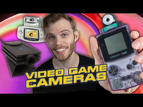 Video Game Cameras Were Weird (GameBoy Camera, EyeToy, And More!) | Billiam