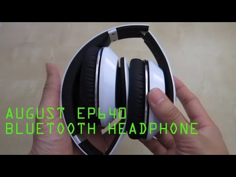 August Ep640 Auriculares Bluetooth Review Espa 241 Ol