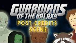 Guardians of the Galaxy vol. 2/POST CREDITS SCENES NUMBERS 2 AND 5!!!