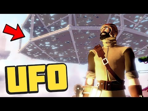 Worlds Adrift - WE HAVE A UFO!! - The BEST Ship! Building a UFO - Worlds Adrift Beta Gameplay