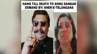 Hang till death to Sonu Dangar Gustaq e Rasool.