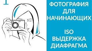 Фотография для начинающих: ISO, выдержка, диафрагма... и что с этим делать (УРОК 1)