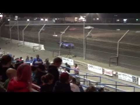 Mini Stock Heat 1 - 10-25-13 - Dirt Nationals - Hanford, CA