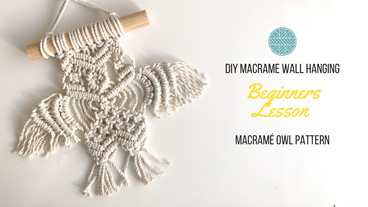 Beginner Level DIY Macrame Tutorials