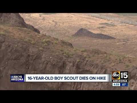 Teen Boy Scout Dies On Hike At Picacho Peak